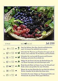 Gärtnern mit dem Mond - Kalender 2018 - Produktdetailbild 2