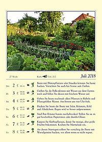 Gärtnern mit dem Mond - Kalender 2018 - Produktdetailbild 1