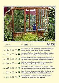 Gärtnern mit dem Mond - Kalender 2018 - Produktdetailbild 3