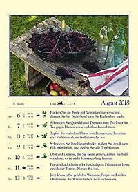 Gärtnern mit dem Mond - Kalender 2018 - Produktdetailbild 6