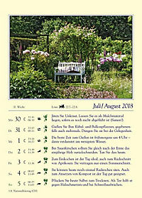 Gärtnern mit dem Mond - Kalender 2018 - Produktdetailbild 5