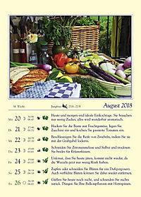Gärtnern mit dem Mond - Kalender 2018 - Produktdetailbild 8
