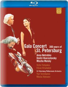 Gala Concert St.Petersburg, Diverse Interpreten
