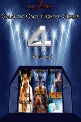 Galactic Cage Fighter Series Volume 4, KD Jones