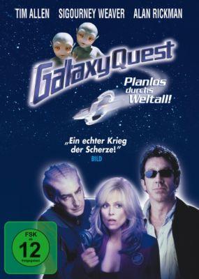 Galaxy Quest, Alan Rickman,Sam Rockwell Tim Allen