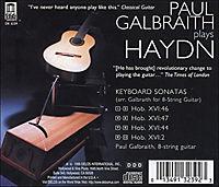 Galbraith Plays Haydn - Produktdetailbild 1