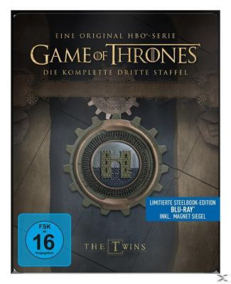 Game of Thrones: Staffel 3 - Steelbook