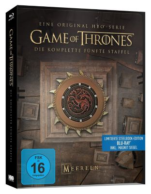 Game of Thrones: Staffel 5 - Steelbook