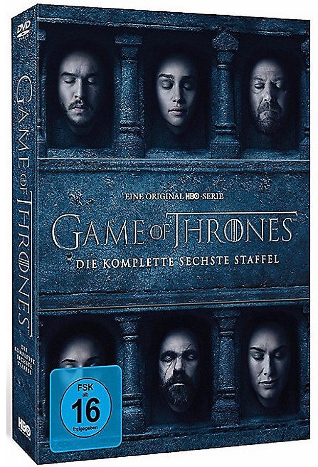 Game Of Thrones Staffel 6 Dvd Bei Weltbildde Bestellen