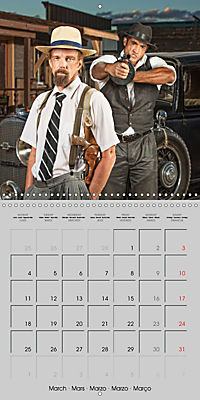 Gangsters and Outlaws of 20th Century (Wall Calendar 2019 300 × 300 mm Square) - Produktdetailbild 3