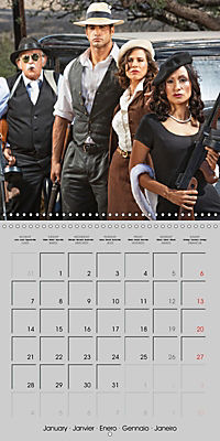 Gangsters and Outlaws of 20th Century (Wall Calendar 2019 300 × 300 mm Square) - Produktdetailbild 1