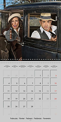 Gangsters and Outlaws of 20th Century (Wall Calendar 2019 300 × 300 mm Square) - Produktdetailbild 2