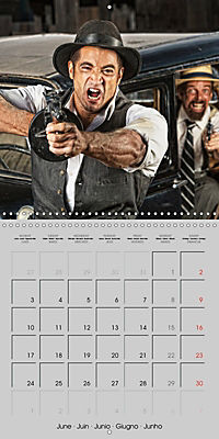 Gangsters and Outlaws of 20th Century (Wall Calendar 2019 300 × 300 mm Square) - Produktdetailbild 6