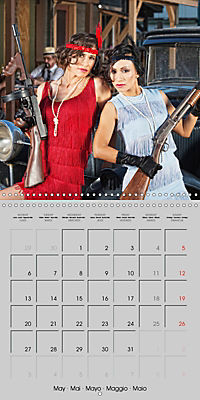 Gangsters and Outlaws of 20th Century (Wall Calendar 2019 300 × 300 mm Square) - Produktdetailbild 5