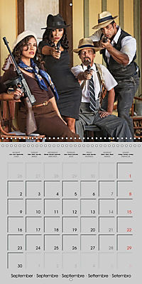 Gangsters and Outlaws of 20th Century (Wall Calendar 2019 300 × 300 mm Square) - Produktdetailbild 9