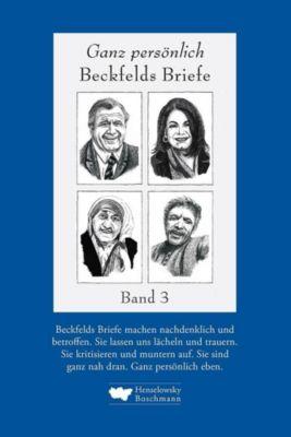 Ganz persönlich: Beckfelds Briefe - Hermann Beckfeld pdf epub