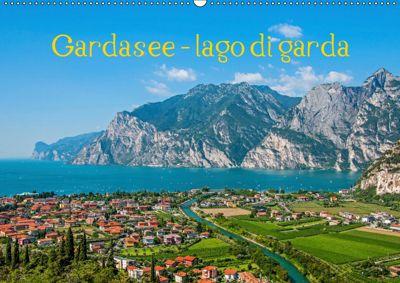 Gardasee - lago di Garda by Sascha Ferrari (Wandkalender 2019 DIN A2 quer), Sascha Ferrari