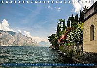 Gardasee. Lago di Garda (Tischkalender 2019 DIN A5 quer) - Produktdetailbild 2