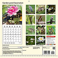 Garden pond fascination (Wall Calendar 2019 300 × 300 mm Square) - Produktdetailbild 13