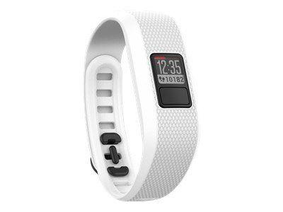GARMIN Vivofit 3 Weiss (Standard) Anzeige von Schritten Kalorienverbrauch,Distanz,Datum und Uhrzeit