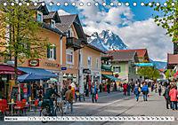 Garmisch-Partenkirchen - Zentrum des Werdenfelser Landes (Tischkalender 2019 DIN A5 quer) - Produktdetailbild 3