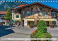 Garmisch-Partenkirchen - Zentrum des Werdenfelser Landes (Tischkalender 2019 DIN A5 quer) - Produktdetailbild 9