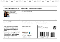 Garmisch-Partenkirchen - Zentrum des Werdenfelser Landes (Tischkalender 2019 DIN A5 quer) - Produktdetailbild 13