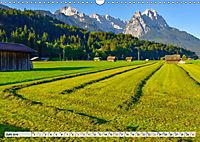 Garmisch-Partenkirchen - Zentrum des Werdenfelser Landes (Wandkalender 2019 DIN A3 quer) - Produktdetailbild 6