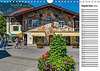 Garmisch-Partenkirchen - Zentrum des Werdenfelser Landes (Wandkalender 2019 DIN A4 quer) - Produktdetailbild 9