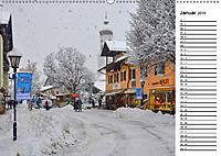 Garmisch-Partenkirchen - Zentrum des Werdenfelser Landes (Wandkalender 2019 DIN A2 quer) - Produktdetailbild 1