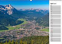 Garmisch-Partenkirchen - Zentrum des Werdenfelser Landes (Wandkalender 2019 DIN A2 quer) - Produktdetailbild 4