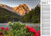 Garmisch-Partenkirchen - Zentrum des Werdenfelser Landes (Tischkalender 2019 DIN A5 quer) - Produktdetailbild 10