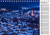 Garmisch-Partenkirchen - Zentrum des Werdenfelser Landes (Tischkalender 2019 DIN A5 quer) - Produktdetailbild 12