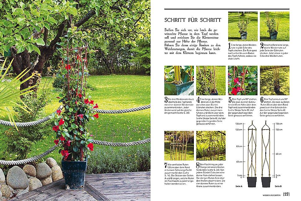 Weiden flechten inspirierende projekte fafar haus und garten - Garten anfanger ...