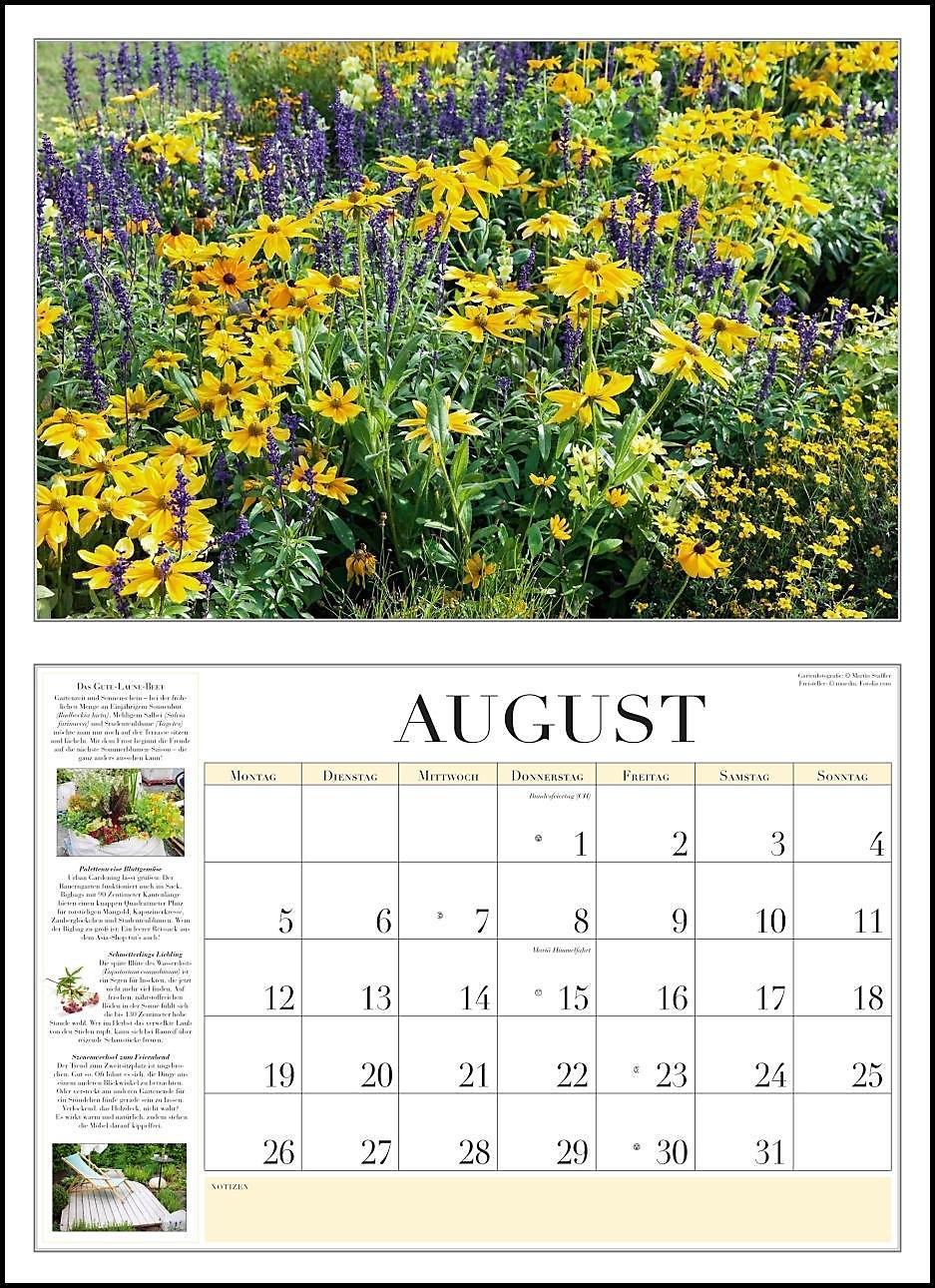 Garten Kalender 2019 Kalender Günstig Bei Weltbildde Bestellen
