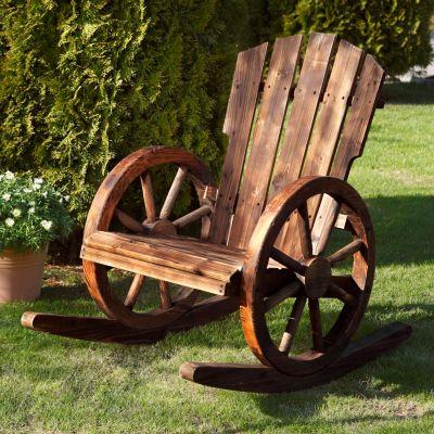 Garten schaukelstuhl wagenrad jetzt bei bestellen for Garten schaukelstuhl