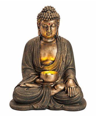 Gartenbrunnen Buddha Mit Leds Bestellen