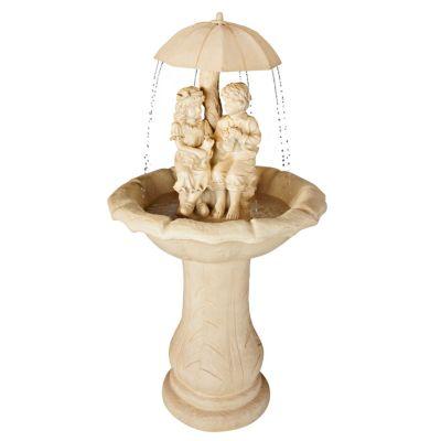 Gartenbrunnen Romantik