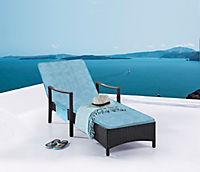 Gartenliegeauflage Memory Foam 190x50 cm - Produktdetailbild 1