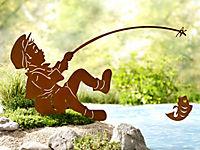 """Gartenstecker """"Anglerglück"""" - Produktdetailbild 1"""