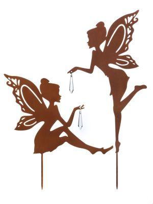 Gartenstecker Elfe, 2er-Set