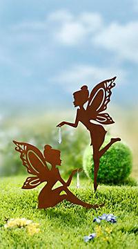 """Gartenstecker """"Elfe"""", 2er-Set - Produktdetailbild 1"""