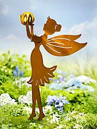 "Gartenstecker ""Elfe"" mit LED-Kugel - Produktdetailbild 1"