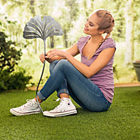 """Gartenstecker """"Ginkgo"""", 3er-Set - Produktdetailbild 1"""