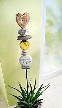 """Gartenstele """"Lebenskunst"""" - Produktdetailbild 1"""