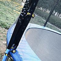 Gartentrampolin mit Sicherheitsnetz (Farbe: blau, schwarz, Größe: 244 cm (Ø)) - Produktdetailbild 3