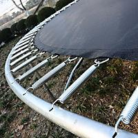 Gartentrampolin mit Sicherheitsnetz (Farbe: blau, schwarz, Größe: 244 cm (Ø)) - Produktdetailbild 4