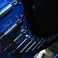 Gartentrampolin mit Sicherheitsnetz (Farbe: blau, schwarz, Größe: 244 cm (Ø)) - Produktdetailbild 5