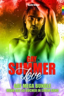 Gay Summer Love - Mehr als 50 Bücher in einem Band - Der grosse MEGA Bundle!, Dustin Voneur