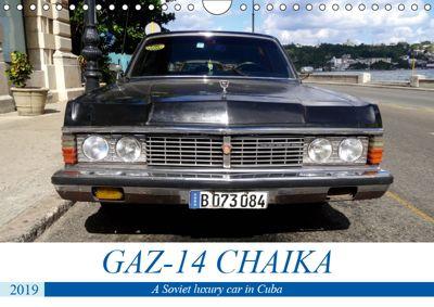GAZ-14 CHAIKA (Wall Calendar 2019 DIN A4 Landscape), Henning von Löwis of Menar